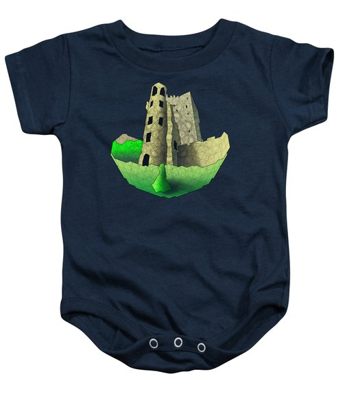 Blarney Castle Baby Onesie by Dusty Conley