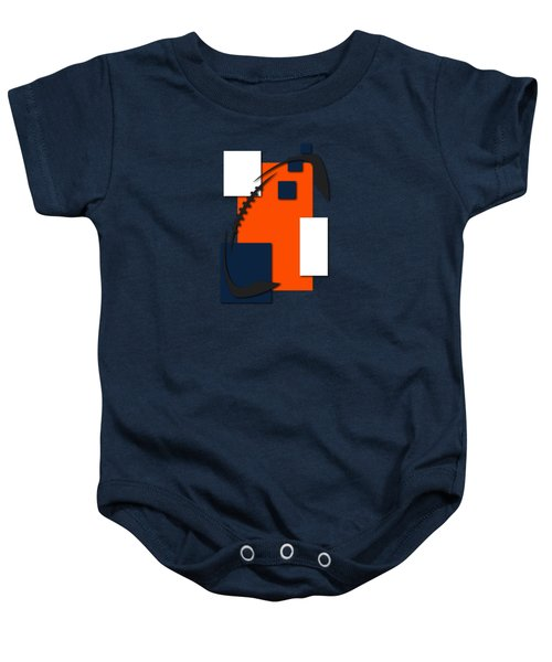 Broncos Abstract Shirt Baby Onesie by Joe Hamilton