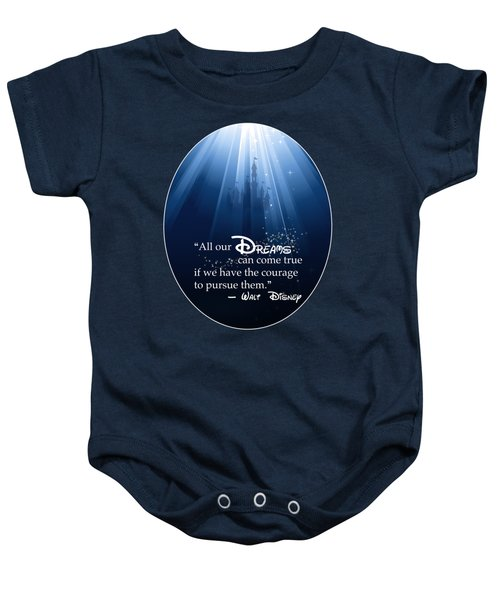 Dreams Can Come True Baby Onesie by Nancy Ingersoll