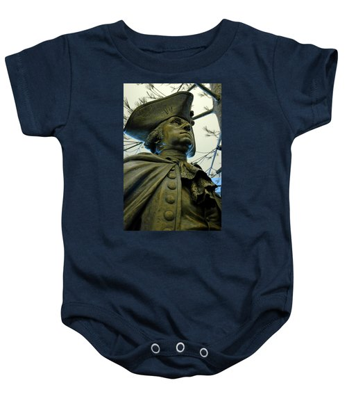 General George Washington Baby Onesie by LeeAnn McLaneGoetz McLaneGoetzStudioLLCcom