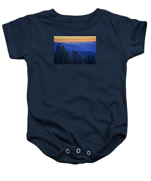Sierra Fire Baby Onesie by Rick Berk