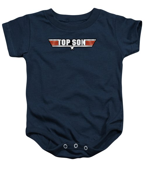 Top Son Callsign Baby Onesie by Fernando Miranda
