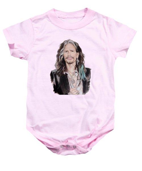 Steven Tyler  Baby Onesie by Melanie D