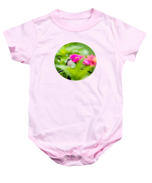 Pretty Garden Jewel Baby Onesie by Christina Rollo