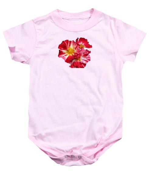 July 4th Rose Baby Onesie by M E Cieplinski