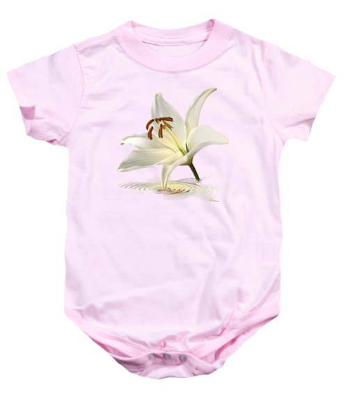 Lily Trumpet Baby Onesie by Gill Billington