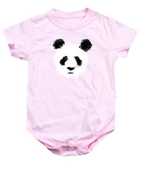 Panda Baby Onesie by Mark Rogan