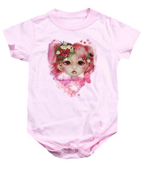 Rosie Valentine - Munchkinz Collection  Baby Onesie by Sheena Pike