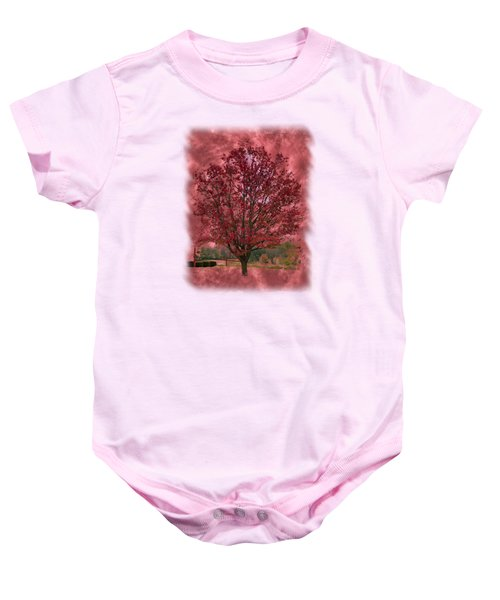 Seeing Red 2 Baby Onesie by John M Bailey