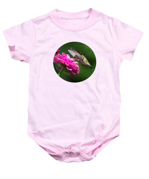 Simple Pleasure Hummingbird Delight Baby Onesie by Christina Rollo