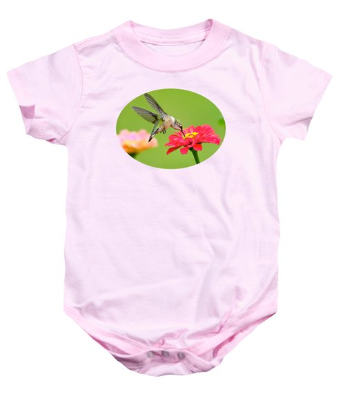 Waiting In The Wings Baby Onesie by Christina Rollo