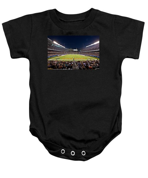 0588 Soldier Field Chicago Baby Onesie by Steve Sturgill