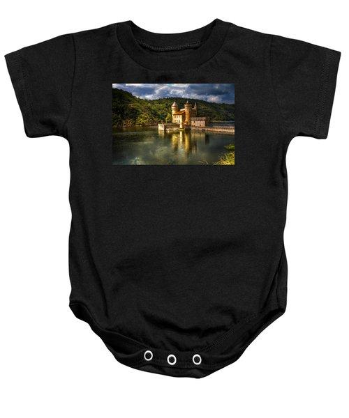 Chateau De La Roche Baby Onesie by Debra and Dave Vanderlaan