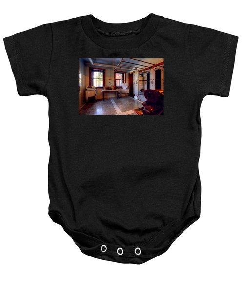Glensheen Mansion Duluth Baby Onesie by Amanda Stadther