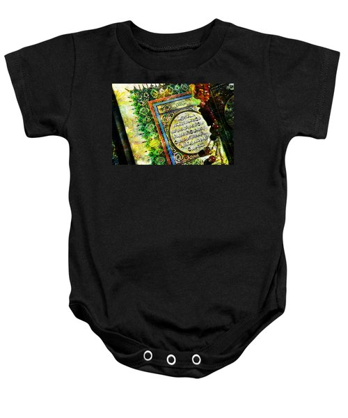 A Page From Quran Baby Onesie by Catf