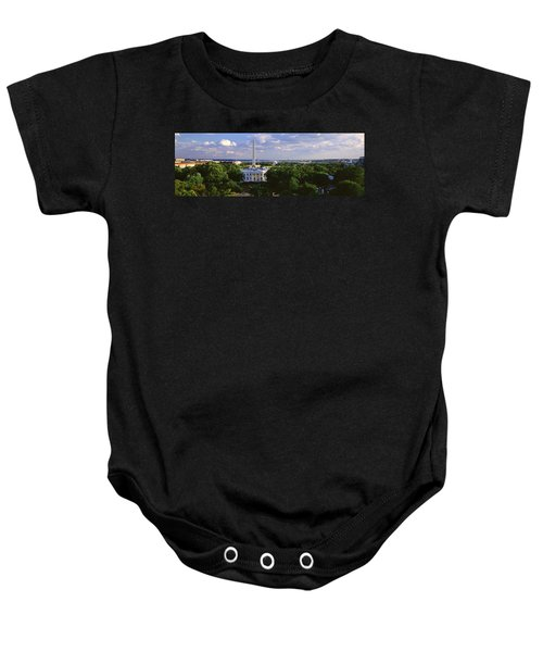 Aerial, White House, Washington Dc Baby Onesie by Panoramic Images