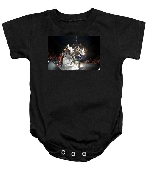 Aerosmith - On Stage 2012 Baby Onesie by Epic Rights