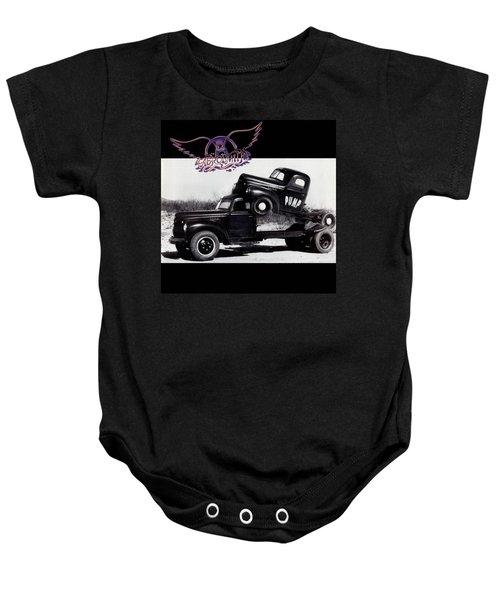 Aerosmith - Pump 1989 Baby Onesie by Epic Rights