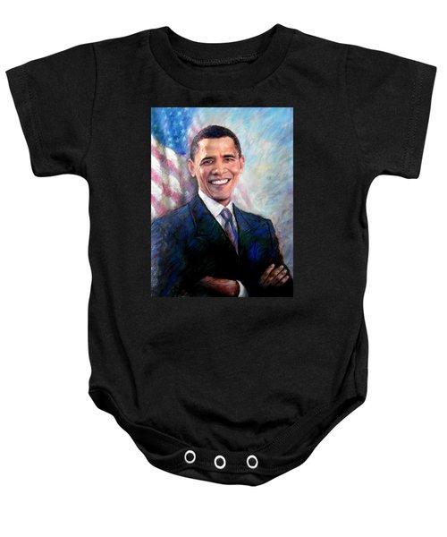 Barack Obama Baby Onesie by Viola El