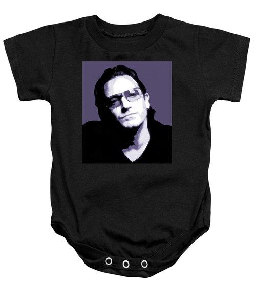 Bono Portrait Baby Onesie by Dan Sproul