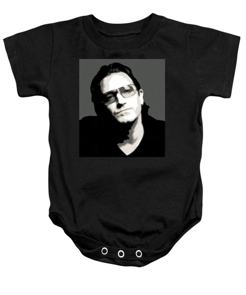 Bono Poster Baby Onesie by Dan Sproul