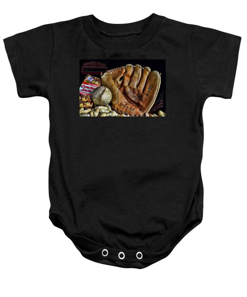 Buy Me Some Peanuts And Cracker Jacks Baby Onesie by Ken Smith