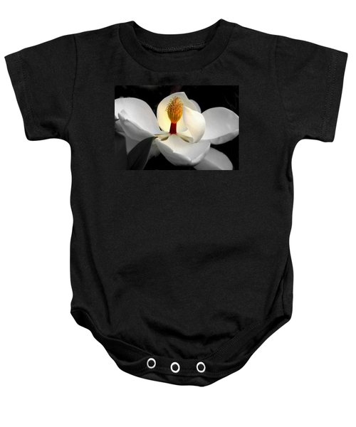 Candle In The Wind Baby Onesie by Karen Wiles