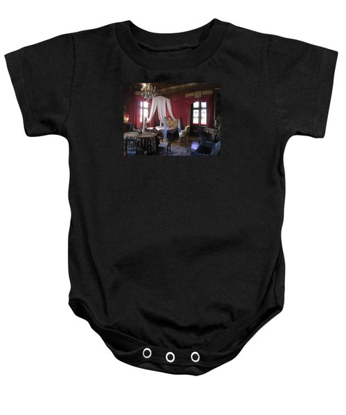 Baby Onesie featuring the photograph Chateau De Cormatin by Travel Pics