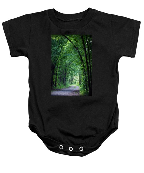 Country Lane Baby Onesie by Cricket Hackmann