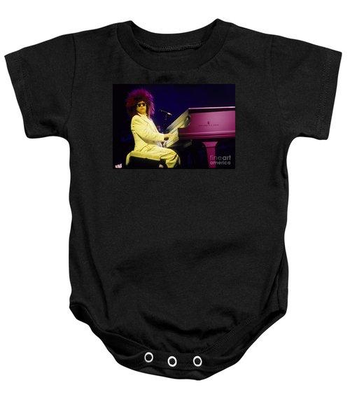 Elton Baby Onesie by David Plastik