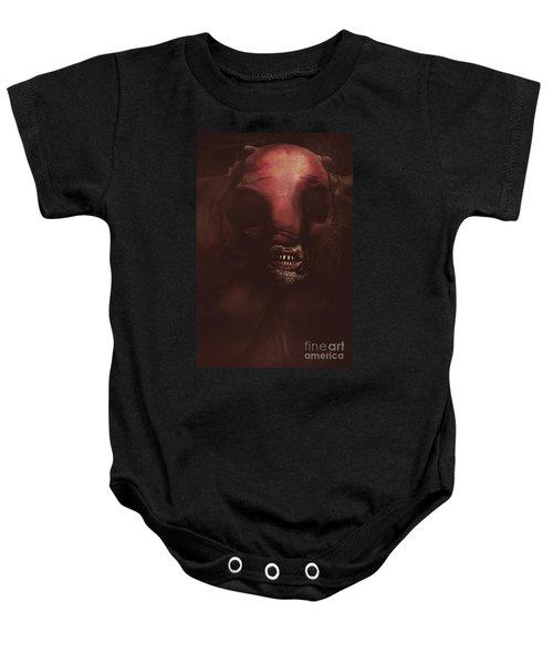 Evil Greek Mythology Minotaur Baby Onesie by Jorgo Photography - Wall Art Gallery