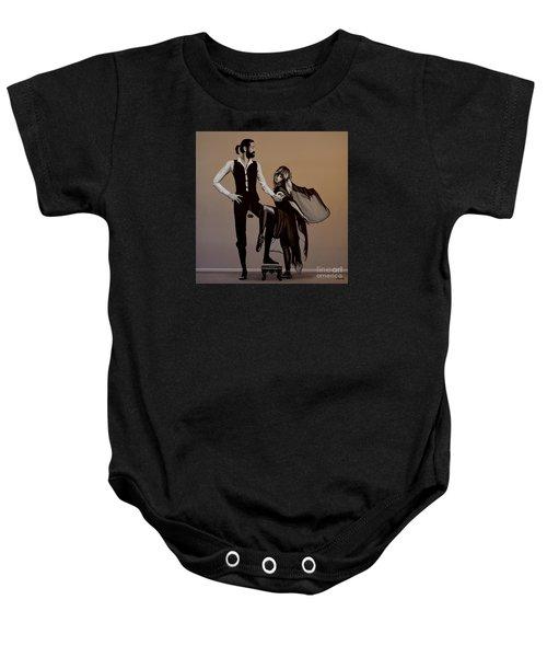 Fleetwood Mac Rumours Baby Onesie by Paul Meijering