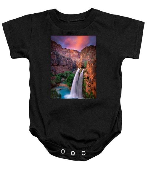 Havasu Falls Baby Onesie by Inge Johnsson