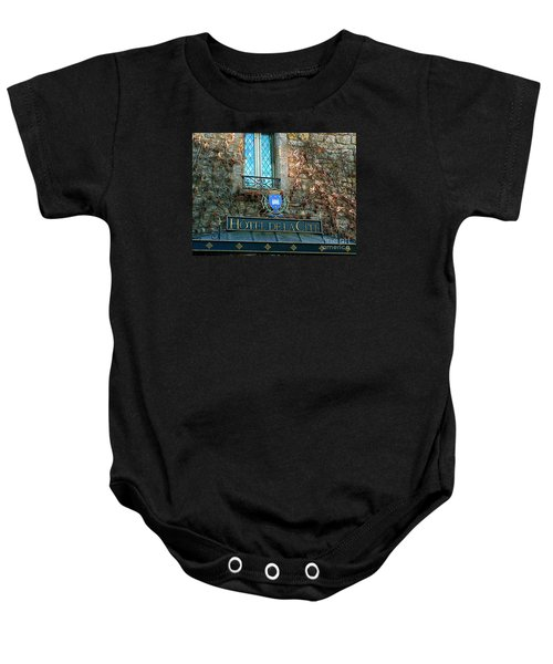 Hotel De La Cite Baby Onesie by France  Art
