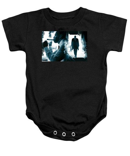 Jay-z Artwork 3 Baby Onesie by Sheraz A