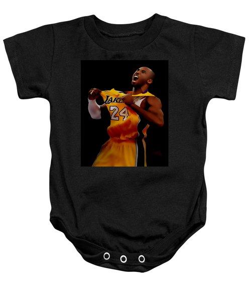 Kobe Bryant Sweet Victory Baby Onesie by Brian Reaves