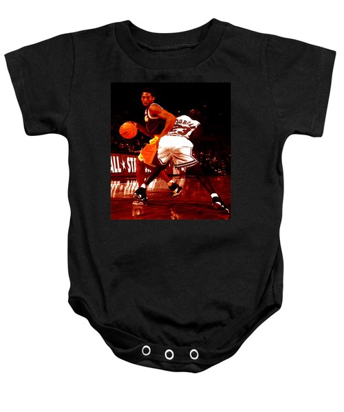 Kobe Spin Move Baby Onesie by Brian Reaves