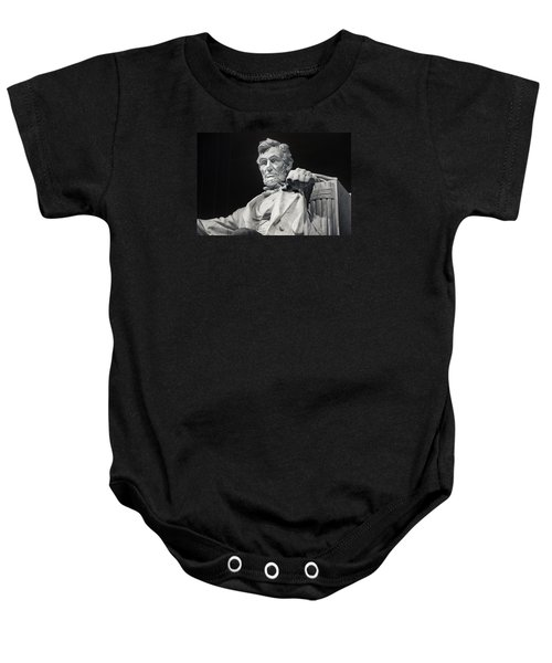 Lincoln Baby Onesie by Joan Carroll