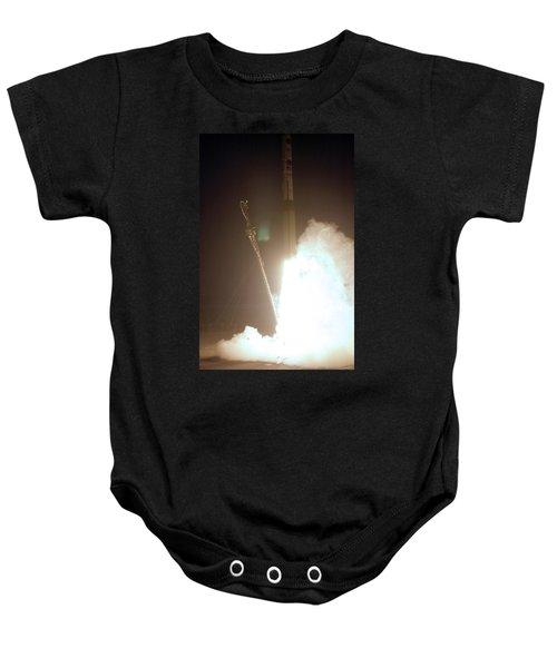 Minotaur Rocket Launch Baby Onesie by Science Source