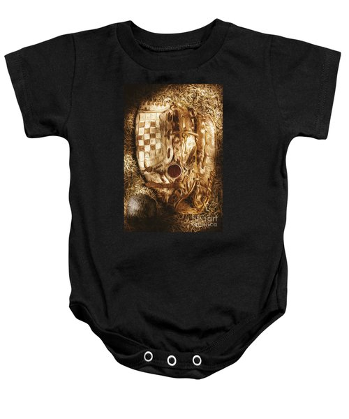 Mitts And Squiggles  Baby Onesie by Jorgo Photography - Wall Art Gallery