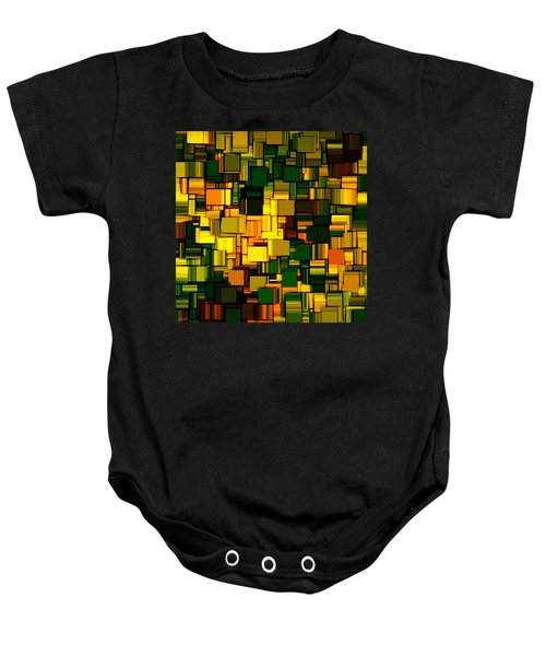 Modern Abstract Xxii Baby Onesie by Lourry Legarde