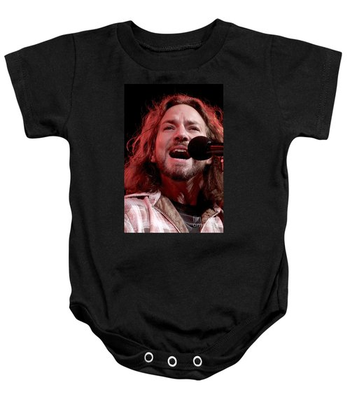 Pearl Jam Baby Onesie by Concert Photos