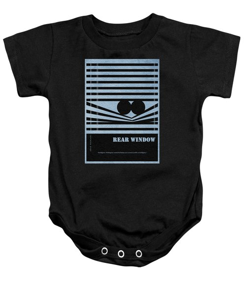Rear Window Baby Onesie by Ayse Deniz