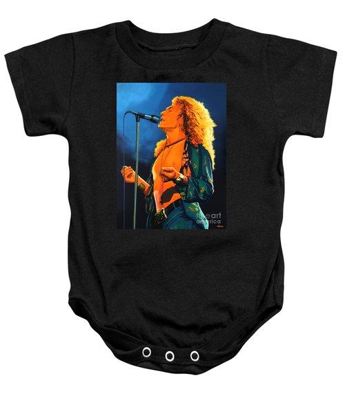 Robert Plant Baby Onesie by Paul Meijering