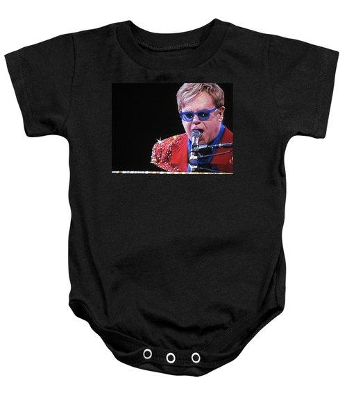 Rocket Man Baby Onesie by Aaron Martens