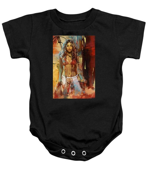 Shakira  Baby Onesie by Corporate Art Task Force