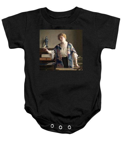 The Canary Baby Onesie by William McGregor Paxson