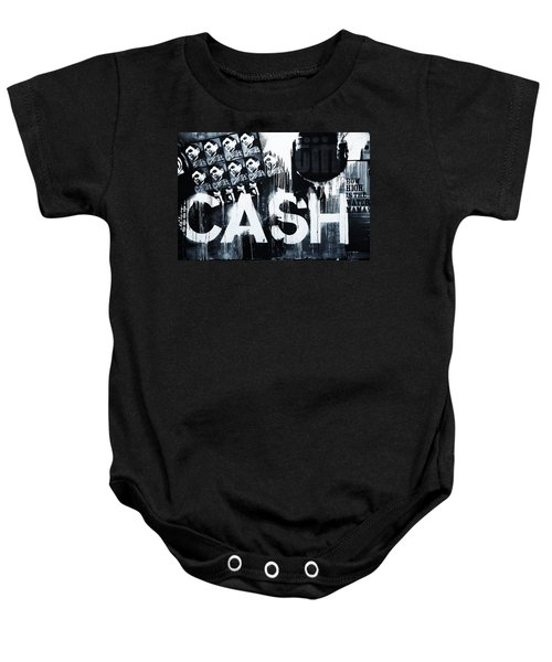 The Man In Black Baby Onesie by Dan Sproul