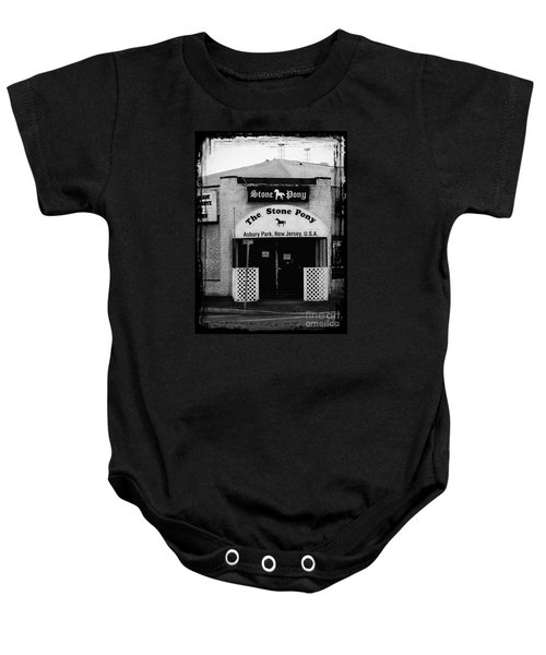 The Stone Pony Baby Onesie by Colleen Kammerer