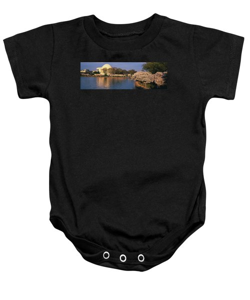 Tidal Basin Washington Dc Baby Onesie by Panoramic Images